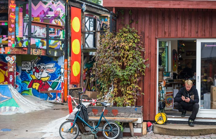 Copenhagen's hippie commune, Christiania, is an oasis in the middle of the city