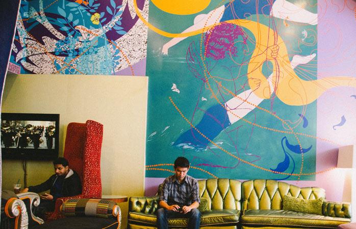 Hotel Triton captures San Francisco's colourful personality