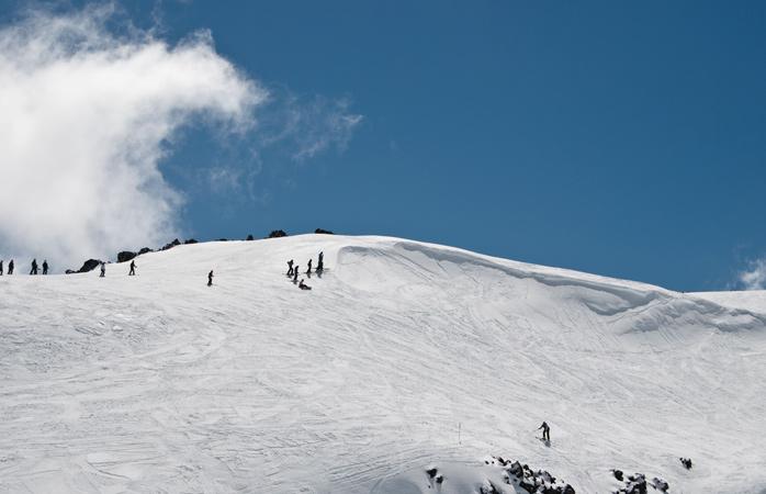 Mount Ruapehu offers great skiing opportunities