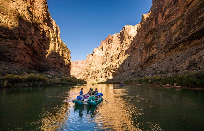 Get swallowed whole by the canyon