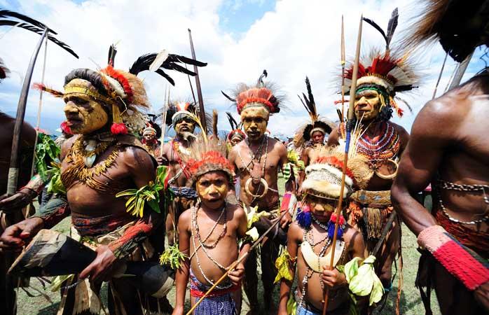 The colourful Goroka Show