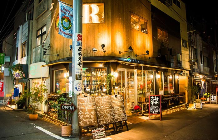 Tokyo's Shimokitazawa comes to life by night