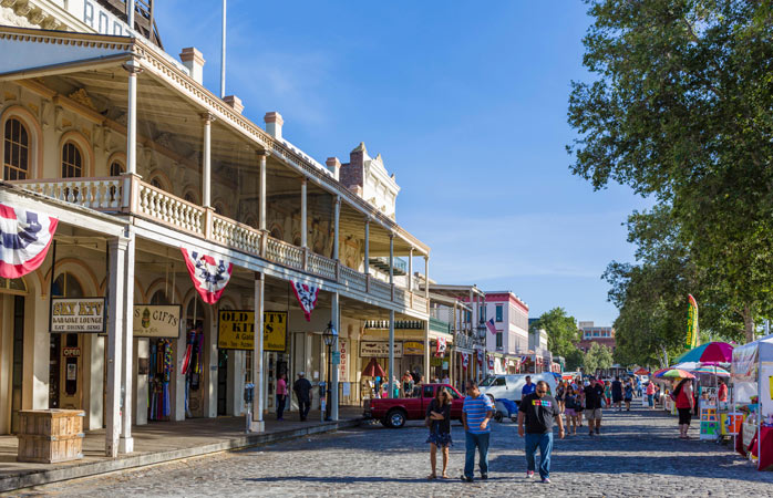 A walk through US history in Sacramento's Old Town