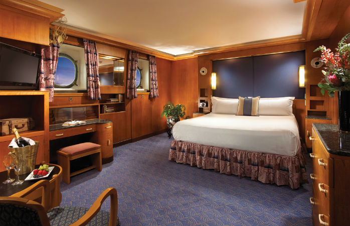 It's not the Titanic but it's close enough – turn up the style at The Queen Mary Hotel