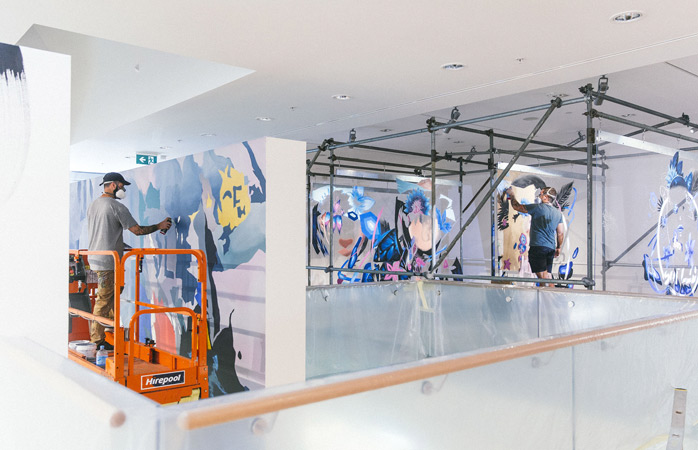 Feast your eyes on a broad palette of bespoke works at Paradox: Tauranga Street Art Festival