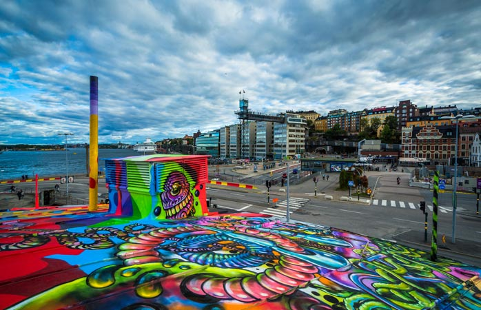 Stockholm's street art scene is rapidly making a name for itself globally