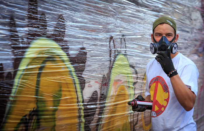 Get up and close with some of Denmark's iconic street artists at Meeting of Styles Copenhagen