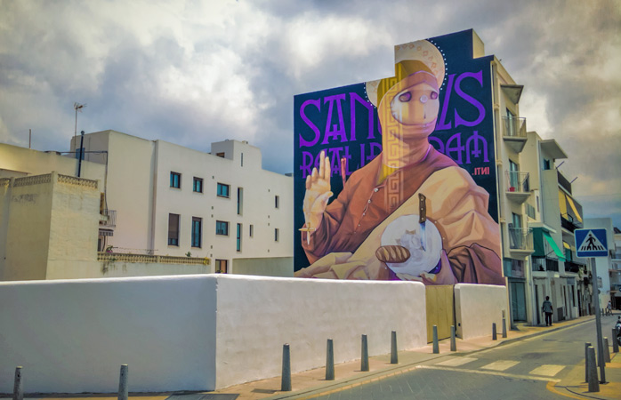 There is more to Ibiza than its club life - keep your eyes peeled for some great murals at this year's Bloop Festival