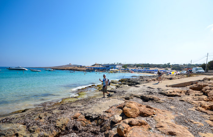 Little Armier Bay – away from crowded resorts