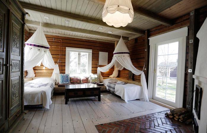 You'll be guaranteed a relaxed sleep at Villa Mandala © Mikko Harma / Villa Mandala