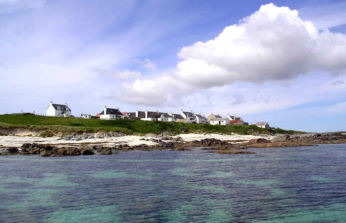 Quiet and remote – the beach at Balemartine on Tiree