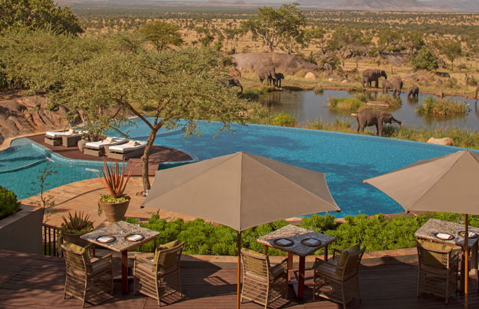 Serengeti-Serena-Lodge-hotels-with-swimming-pools-infinity-swimming-pool