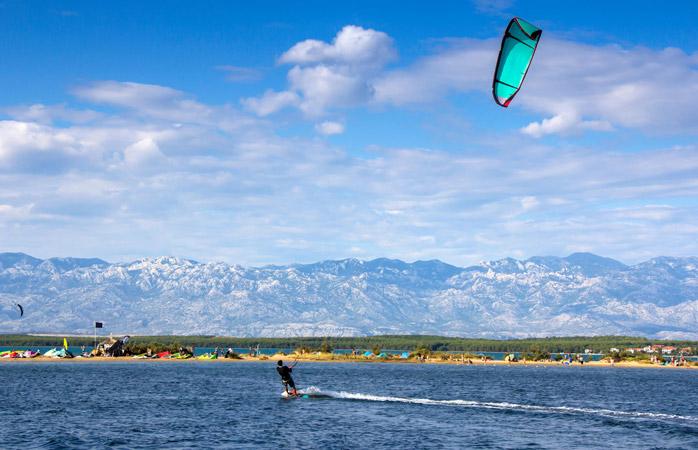 Nin's Lagoon – the perfect spot for kitesurfing