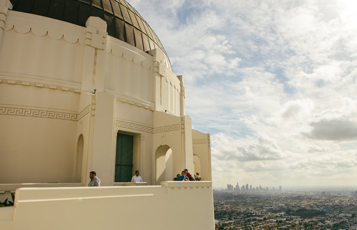 See the stars at the Griffith Observatory