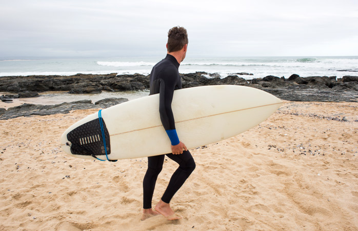 Grab your board, don your wetsuit and pit your wits against the waves at Jeffreys Bay