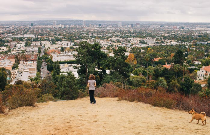 Get that Hollywood body hiking Runyon Canyon
