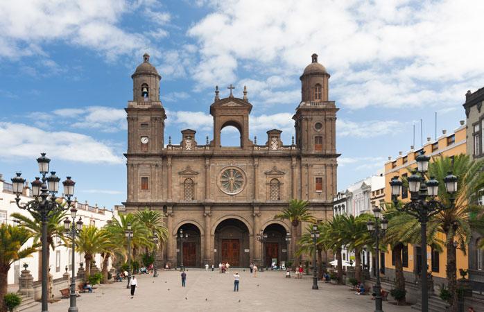The Cathedral of Santa Ana in Las Palmas de Gran Canaria
