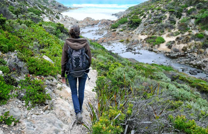 Pack your essentials and hit the trail - Kangaroo Island is a hiker's paradise
