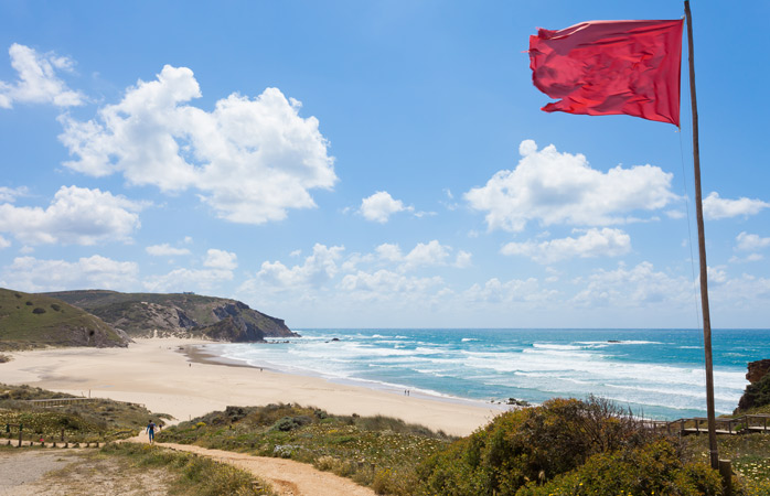 You'll find no shortage of waves at Portugal's Praia do Amado