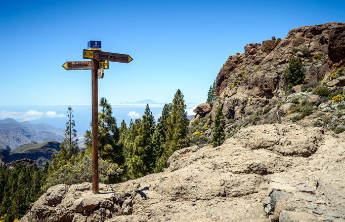 Bring your hiking boots and explore Cran Canaria's sacred mountains