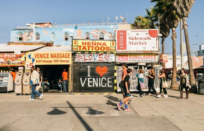 Get an eyeful strolling around Venice Beach