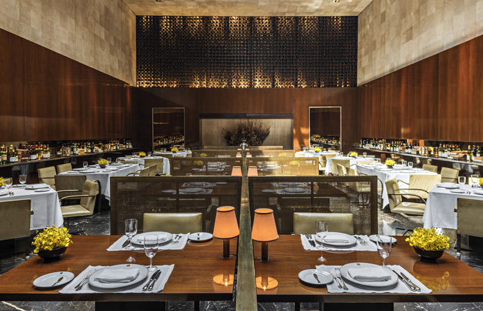 The spectacular Restaurante Fasano features live piano music every evening © Fasano Hotels and Restaurants