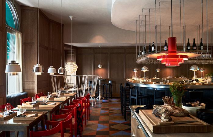 Stockholm's Matbaren restaurant is effortlessly Scandinavian chic © Magnus Mårding