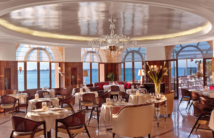 Complete with panoramic views of the Venetian Lagoon © Belmond Hotel Cipriani