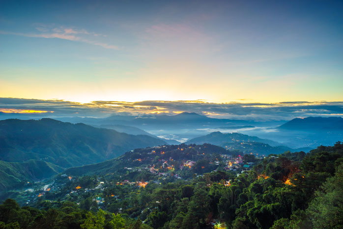 Say goodbye to the past year in relaxing surroundings in Baguio