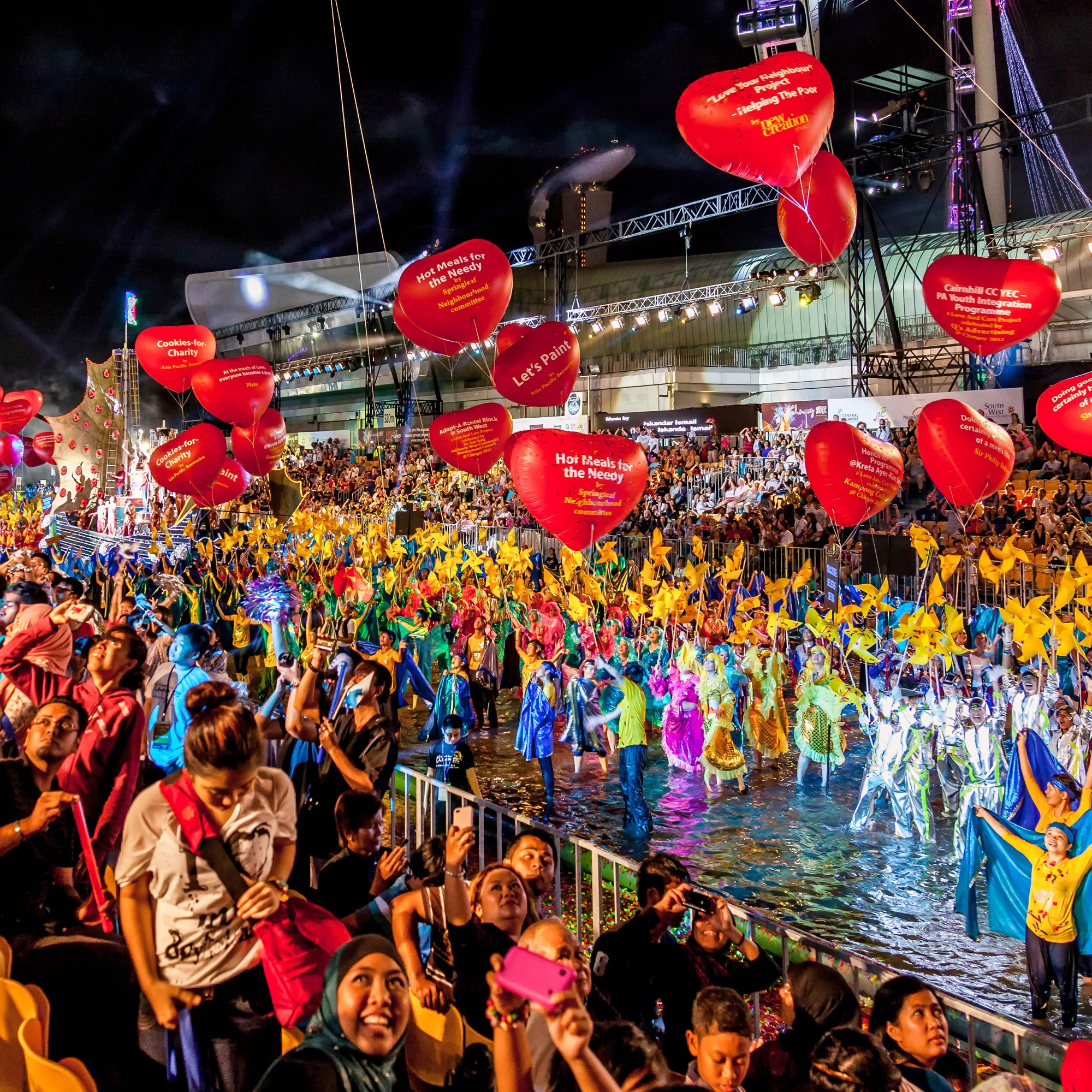 Celebrate Chinese New Year in style at the Chingay Parade in Singapore – the largest of its kindin Asia