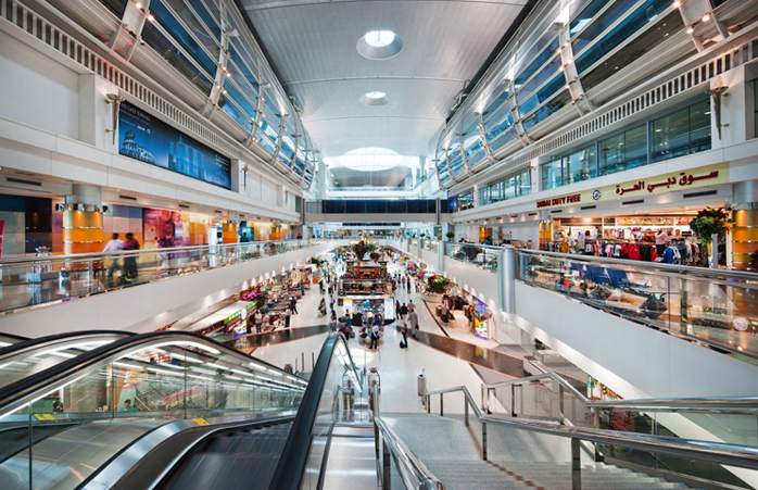 Shopping at Terminal 1 © Dubai International Airport