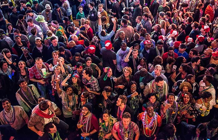 Let loose in the wild of New Orleans during Mardi Gras, at the weekend, or basically all-year-round in 2018