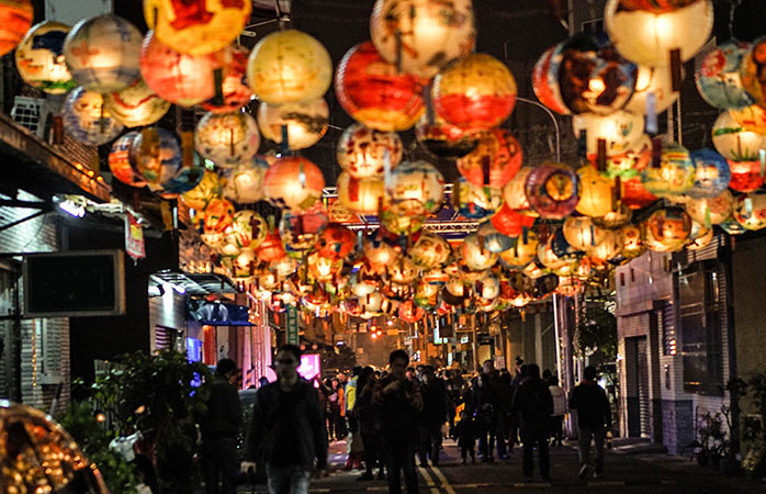 Explore Taiwan during The Lantern Festival – arguably one of the most colorful events around the world