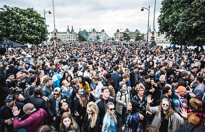 Bring the party to the streets with Copenhagen's rowdy Distortion bonanza
