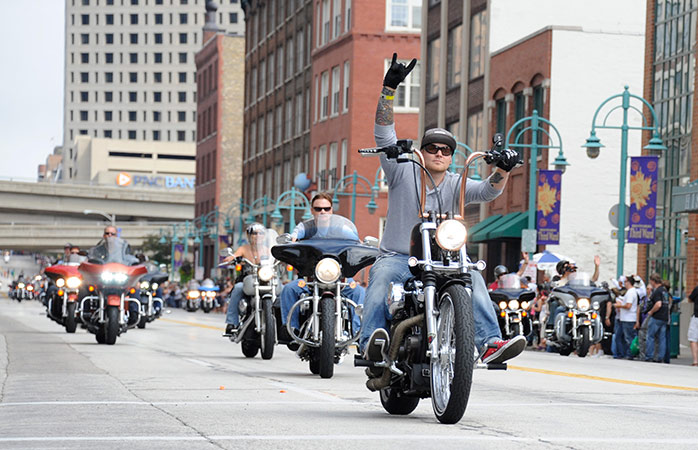 Easy rider! Visit Milwaukee in 2018 to celebrate 115 years of Harley Davidson motorcycles