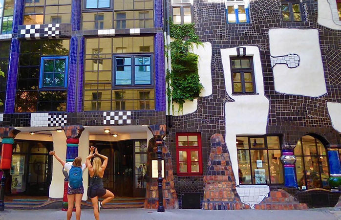 Embrace the weird and explore Vienna's modernism architecture