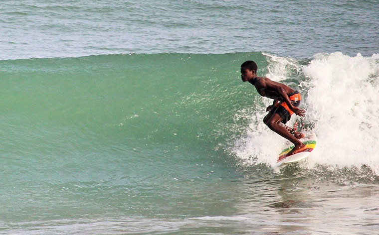Surfing in Ghana: world-class waves without the crowds