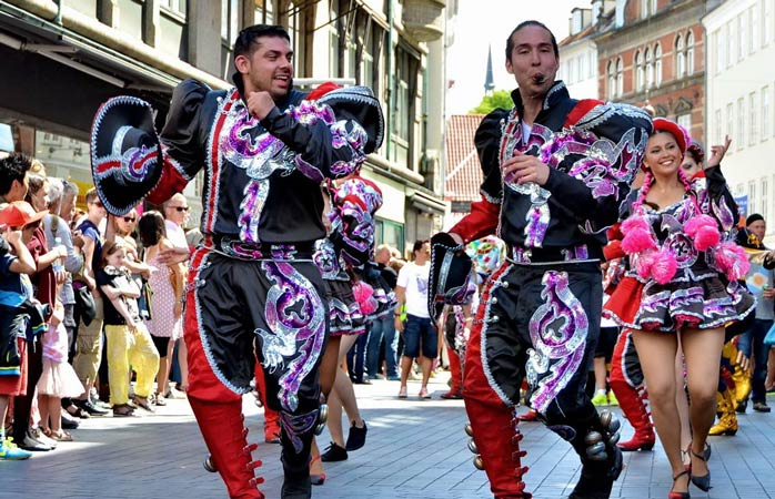 Copenhagen carnival brings a burst of colour and warmth to the city streets every spring