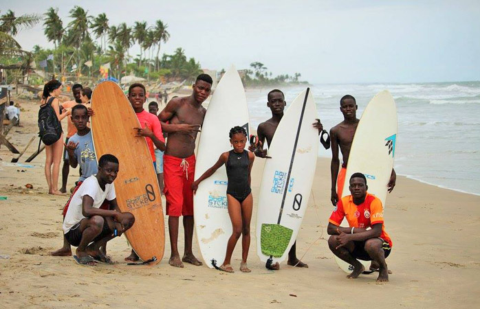 Kokrobite's new generation of surfers