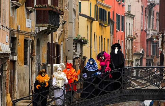 There is more to Venice than bridges and canals - put on your carnival mask and join the fun