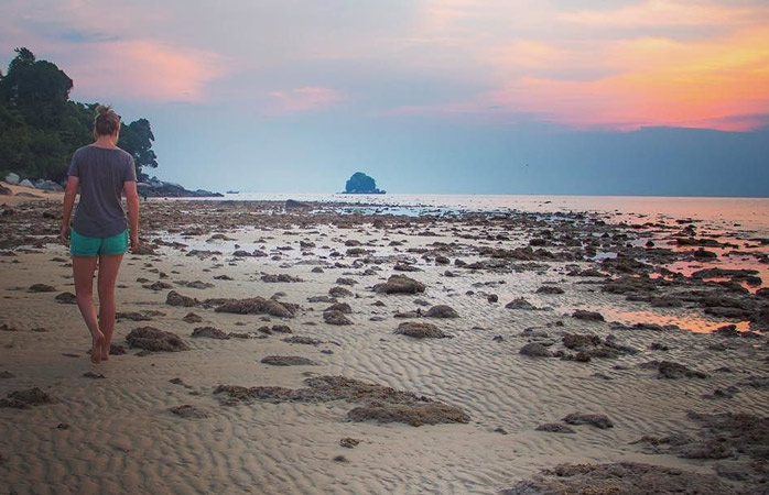 Tioman Island provides the perfect landscape for tranquil walks