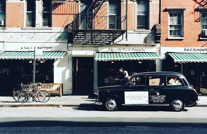 Is it London? Or is it New York? West Village will have you confused