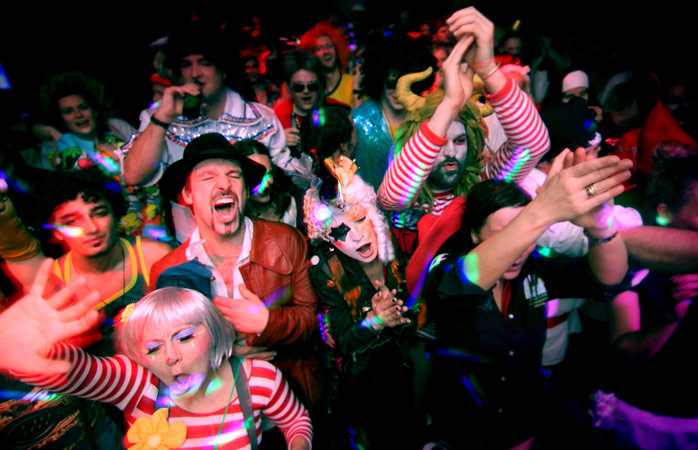 The Cologne Carnival will keep you ticking all night long