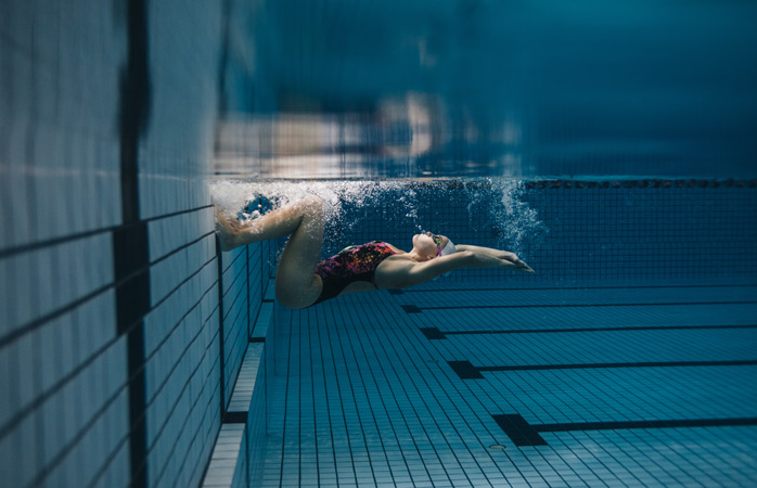 First step: hit your local swimming pool and do a couple of laps