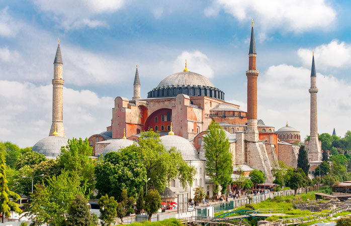 Once a church, then a mosque and now a museum - Hagia Sofia is a unique religious monument