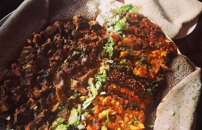 Ethiopian food at Nazareth in Bloorcourt Village