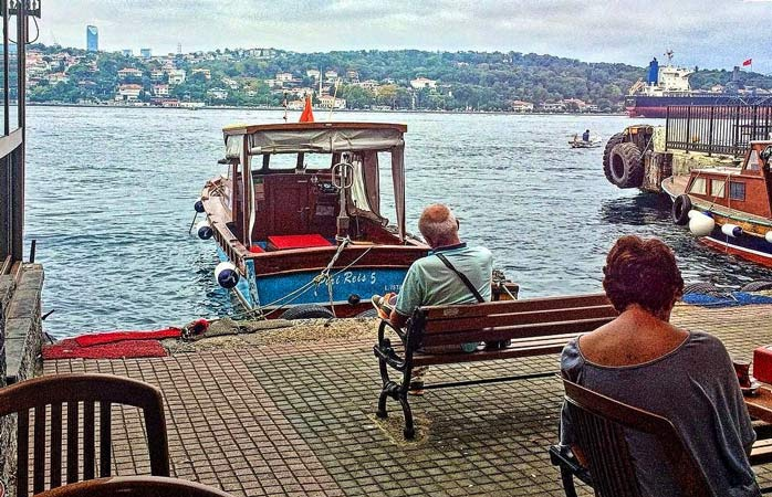 Enjoy the yogurt here as you sit back and take in the serenity of this quiet pocket of Istanbul