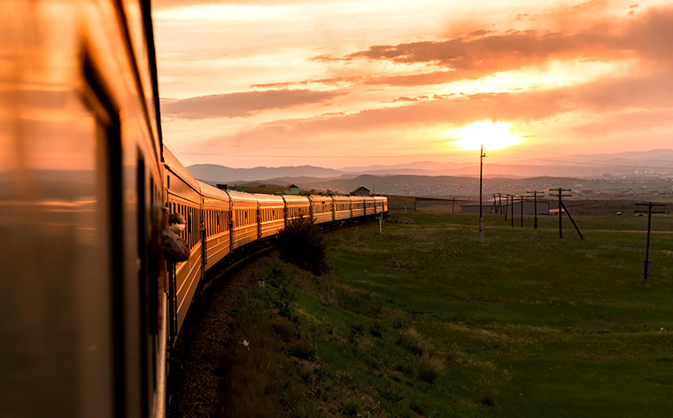 Embark on an epic ride across Russia with the Trans-Siberian Railway