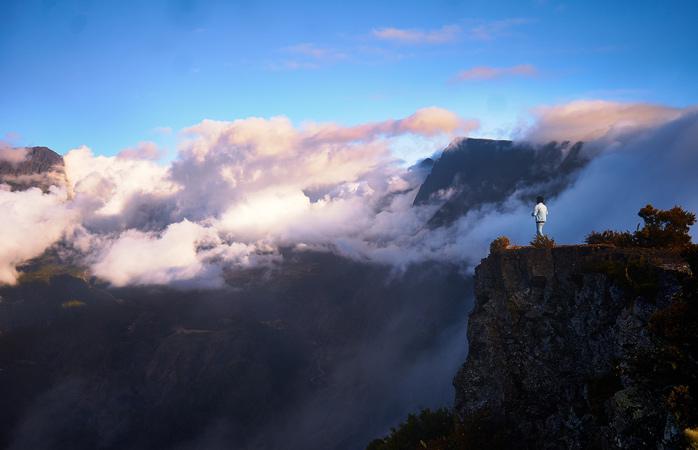 Explore Réunion's famous cirques and enjoy the magnificent views