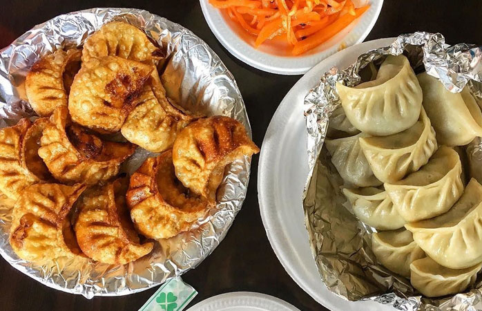 Savour the famed dumplings at Loga's corner
